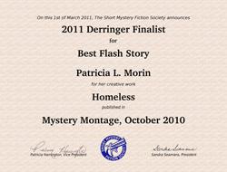 Derringer Finalist